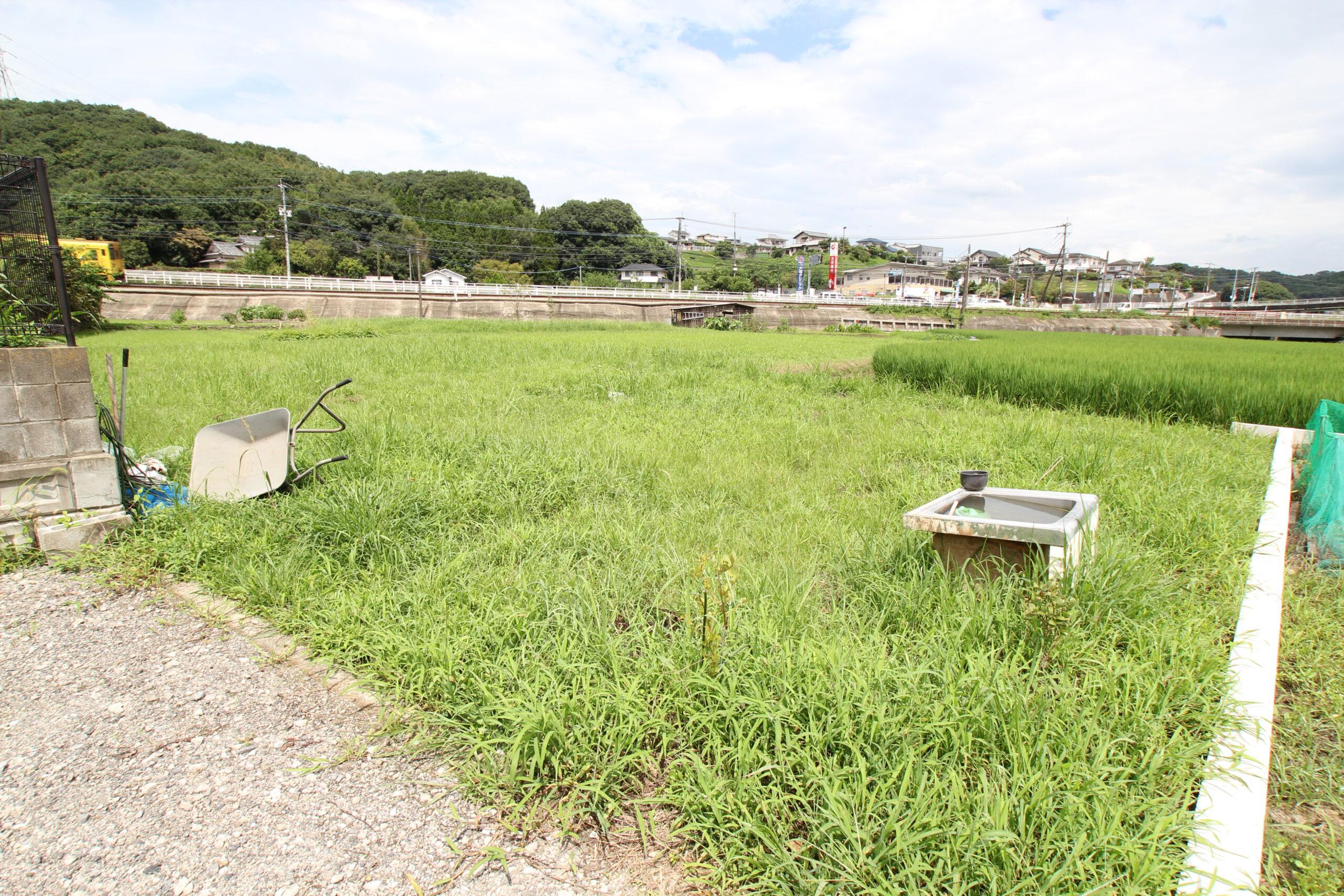 中判田売土地